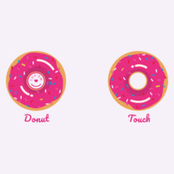 Luv'em's Donut Touch  Design